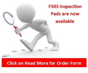 FSRS Inspection Pads